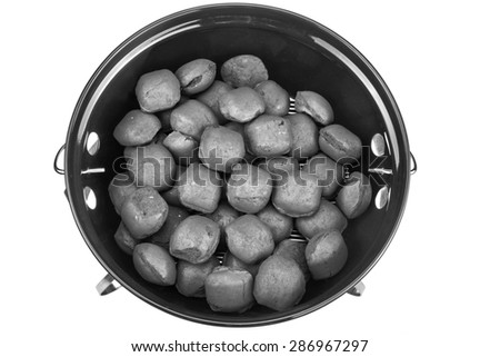 how to start a bbq with briquettes