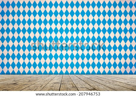 Empty Oktoberfest Background  - stock photo