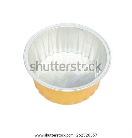 Empty Opened Tin Can - stock photo