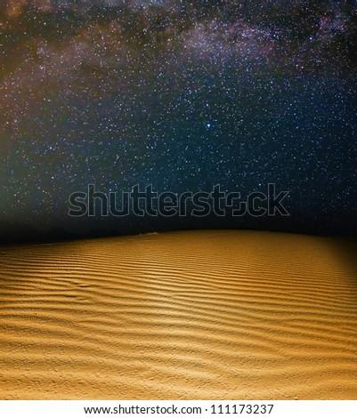 empty planet landscape - stock photo