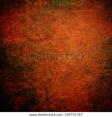 Empty red wall background for valentines day or christmas - stock photo