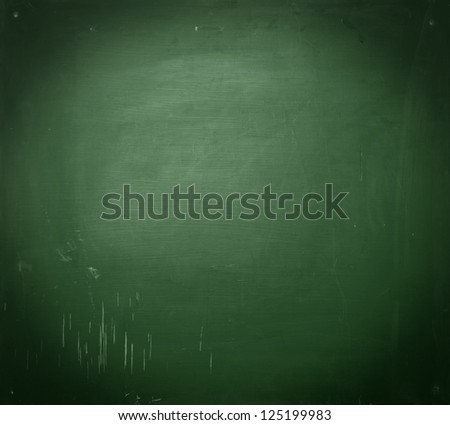 empty school chalkboard - stock photo