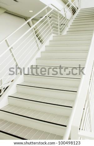 Empty stairs - stock photo