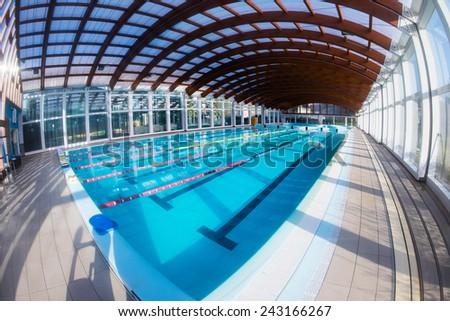 empty swimming pool - stock photo