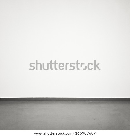 Empty wall, can be used as background  - stock photo