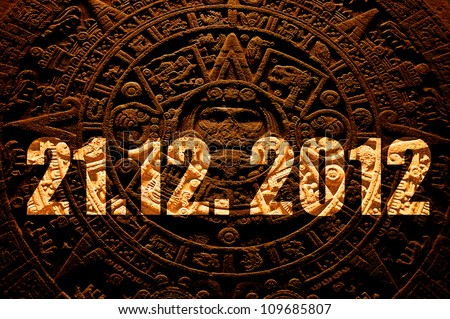End of the World 21.12. 2012 - stock photo
