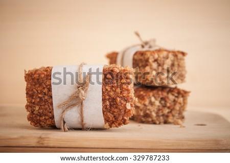 Energy bars - stock photo