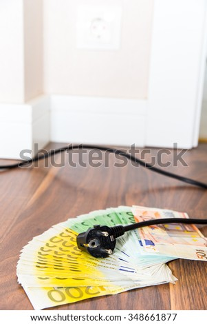 Energy costs - stock photo