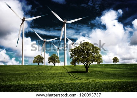 Energy power - stock photo
