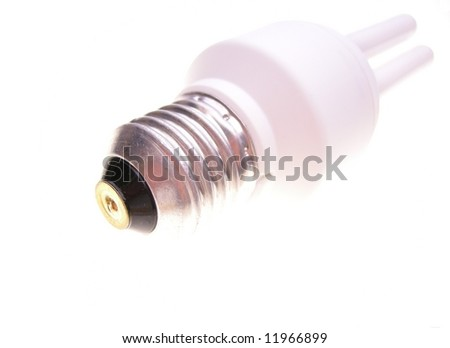 Energy saving bulb - stock photo