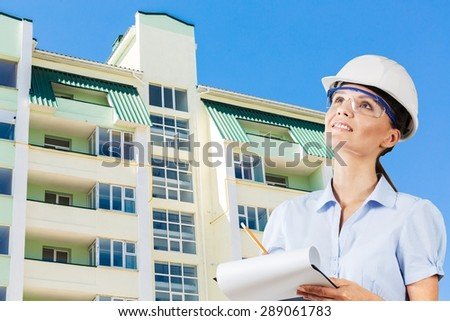 Engineer, Women, Factory. - stock photo