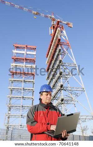 Engineer working - stock photo