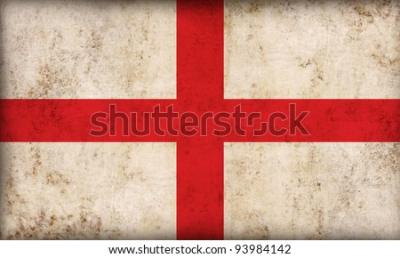 England flag background - stock photo