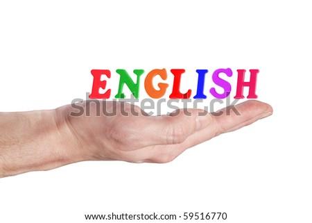 English - stock photo