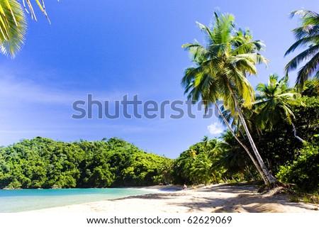 Englishman's Bay, Tobago - stock photo
