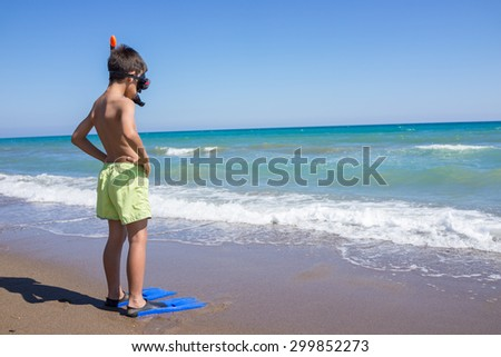 Enjoying summer - stock photo