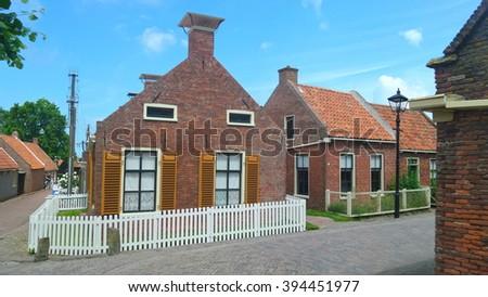 Enkhuizen Holland - stock photo