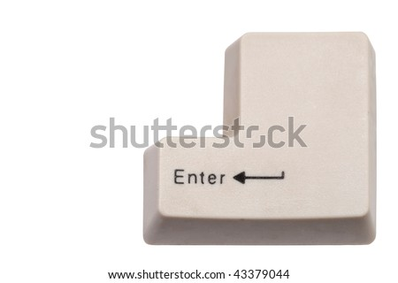 Enter Key - stock photo