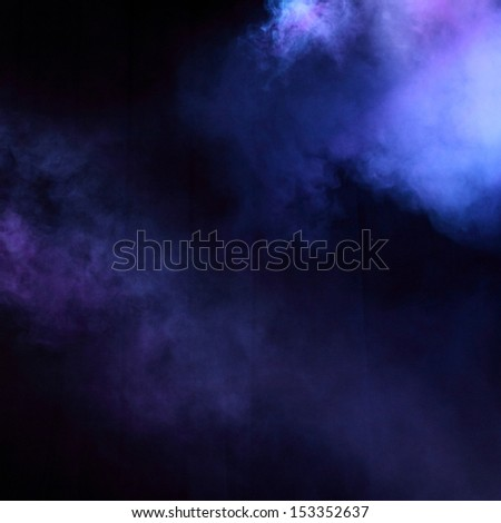 Entertainment concert lighting/Purple and blue decoration of concert lighting - stock photo