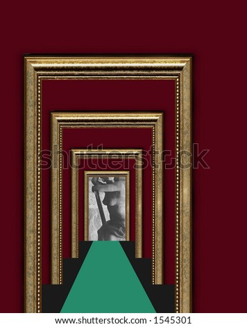 Entrance to the dreams - stock photo