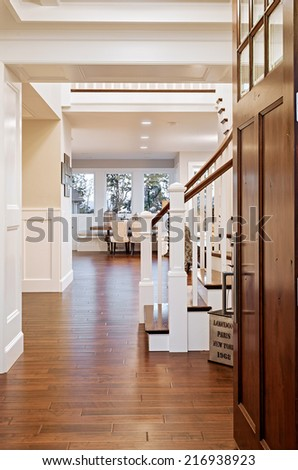 Entryway in New Home - stock photo