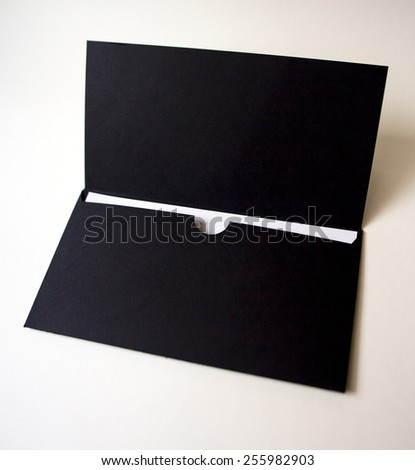 envelope handmade.  - stock photo