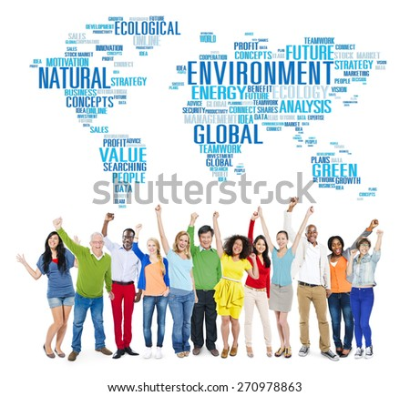 Environment Ecology Conservation Productivity Concept - stock photo