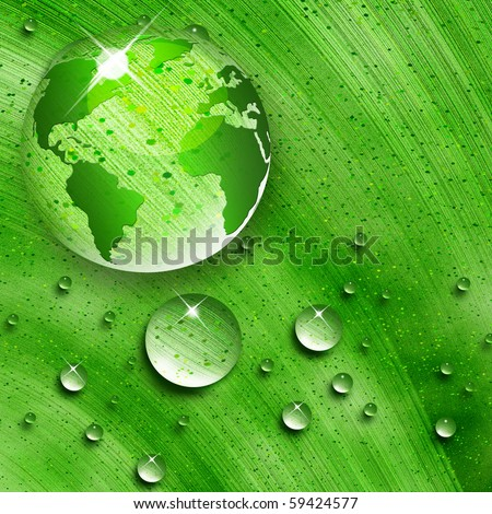 environmental energy concept - stock photo