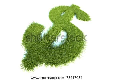 Environmentally profit in harmony with nature. - stock photo