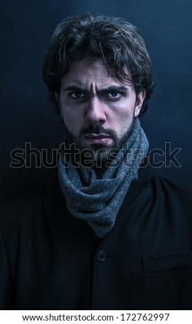 epic portrait - stock photo