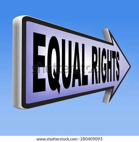 men and women have equal opportunities Gender equality, also known as sexual equality, is the state of equal ease of  access to resources and opportunities regardless of gender,  it does not mean  that women and men have to become the same, but that their rights,  responsibilities.
