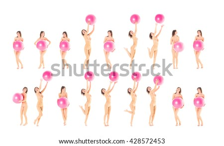 Erotica Isolated Group  - stock photo