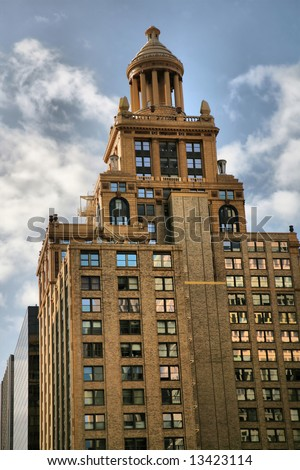 Esperson Tower in Houston, Texas, United States of America(Release Information: Editorial Use Only. Use of this image in advertising or for promotional purposes is prohibited.) - stock photo