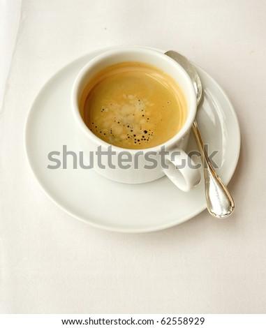 espresso coffee cup - stock photo