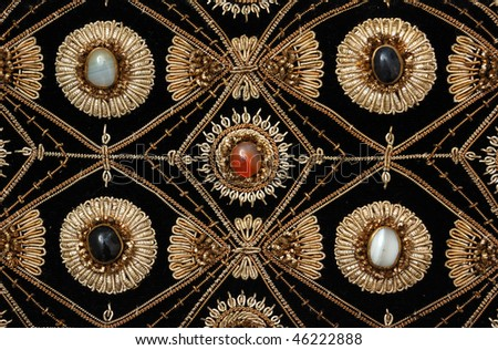 ethnic pattern - stock photo