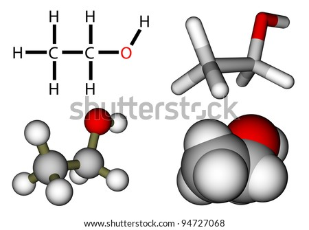 Ethanol Molecule Stock Photos, Images, & Pictures ...