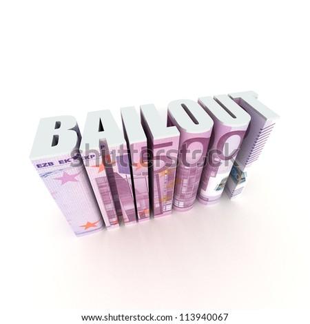 EU Bailout - stock photo