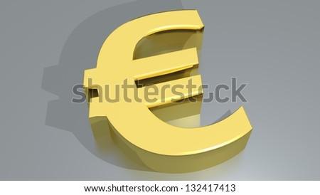 Euro - � - stock photo