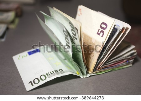 Euro, Cash Money - stock photo