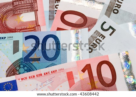 Euro currency - stock photo