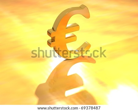 Euro Currency sign - stock photo