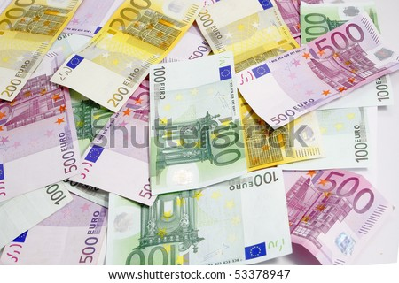 euro money currency - stock photo