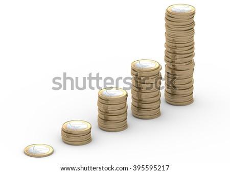 Euro-Staple - stock photo
