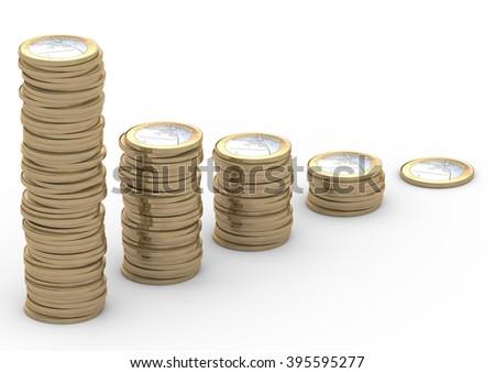 Euro-Staple-2 - stock photo