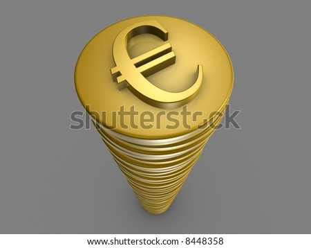 Euro Tower - stock photo