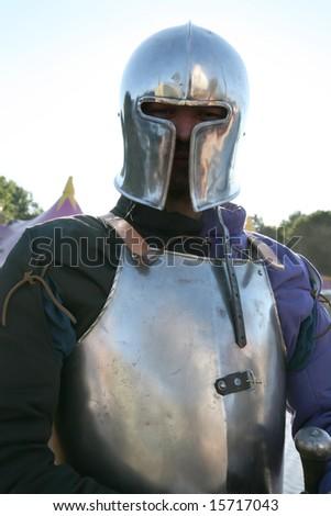 europe knight - stock photo