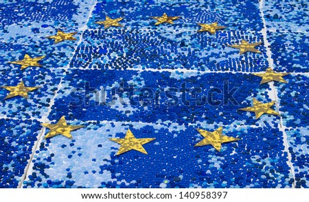 European community concept - stock photo