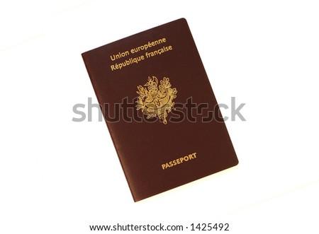 European Passport - stock photo