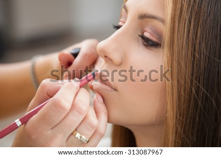 Every girl loves to be pampered - stock photo