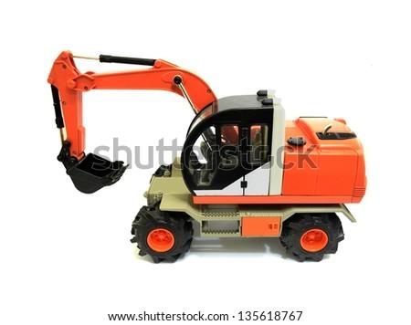 Excavator machines - stock photo